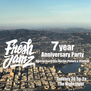 Fresh Jamz 7 year anniversary